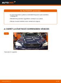 Hogyan végezze a cserét: 1.6 16V (F08, F48) Opel Astra g f48 Izzó, főfényszóró