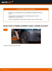 Comment effectuer un remplacement de Biellette De Barre Stabilisatrice sur D 65 1.9 Renault Kangoo kc01