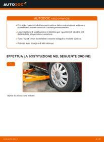 Come effettuare una sostituzione di Ammortizzatori su 1.9 TDI Audi A3 8l1