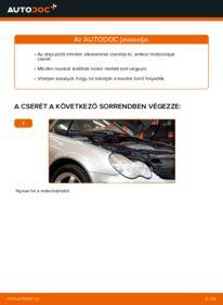 Hogyan végezze a cserét: C 220 CDI 2.2 (203.006) Mercedes W203 Olajszűrő