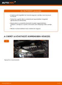 Hogyan végezze a cserét: 1.2 Renault Clio 2 Utastér levegő szűrő