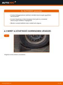 Hogyan végezze a cserét: 1.2 Renault Clio 2 Motor csapágyzás