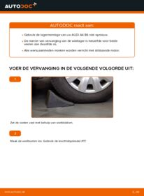 Vervangen: Wiellager 1.9 TDI Audi A4 b6