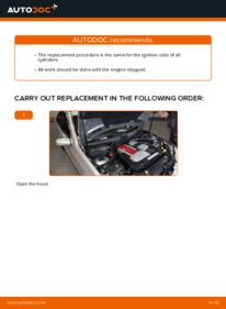How to carry out replacement: Ignition Coil on C 220 CDI 2.2 (203.006) Mercedes W203