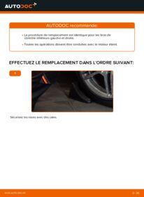 Comment effectuer un remplacement de Bras de Suspension sur E 300 3.0 Turbo Diesel (210.025) Mercedes W210