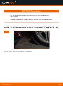 Vervanging uitvoeren: Draagarm E 300 3.0 Turbo Diesel (210.025) Mercedes W210