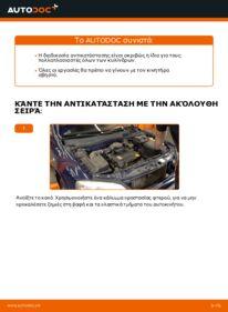 Πώς να πραγματοποιήσετε αντικατάσταση: Πολλαπλασιαστής σε 1.6 16V (F08, F48) Opel Astra g f48