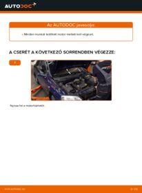 Hogyan végezze a cserét: 1.6 16V (F08, F48) Opel Astra g f48 Motor csapágyzás