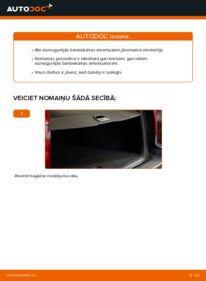 Kā veikt nomaiņu: 2.4 Volvo V70 SW Amortizators