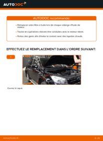 Comment effectuer un remplacement de Filtre à Huile sur 2.2 D 4WD (ALA30_) Toyota RAV4 III