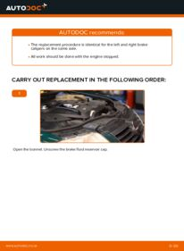 How to carry out replacement: Brake Calipers on 1.9 TDI Passat 3b5