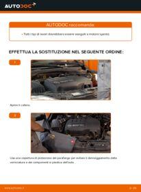Come effettuare una sostituzione di Cinghia Poly-V su 1.2 (F08, F68) Opel Corsa C