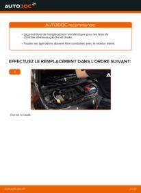 Comment effectuer un remplacement de Bras de Suspension sur 1.6 RENAULT MEGANE II Saloon (LM0/1_)