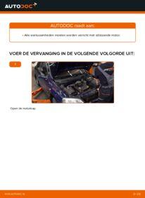 Vervanging uitvoeren: Motorsteun 1.6 16V (F08, F48) Opel Astra g f48