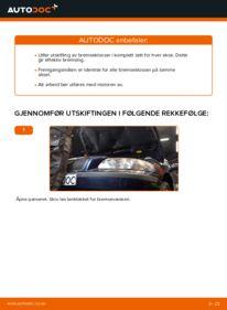 Slik bytter du Bremseklosser på 2.4 Volvo V70 SW