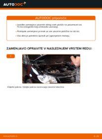 Kako izvesti menjavo: Zavorne Ploščice na 1.9 TDI Touran 1t1 1t2