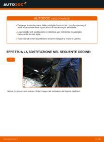 Come effettuare una sostituzione di Pastiglie Freno su A 180 CDI 2.0 (169.007, 169.307) Mercedes W169