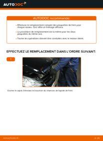 Comment effectuer un remplacement de Plaquettes de Frein sur A 180 CDI 2.0 (169.007, 169.307) Mercedes W169