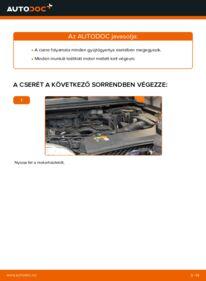 Hogyan végezze a cserét: 1.6 TDCi Ford Focus mk2 Sedan Gyújtógyertya