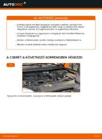 Hogyan végezze a cserét: 1.6 TDCi Ford Focus mk2 Sedan Féktárcsa