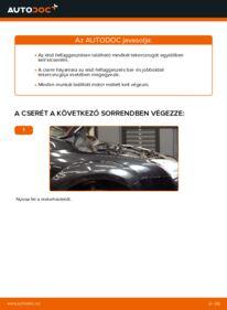 Hogyan végezze a cserét: 1.6 TDCi Ford Focus mk2 Sedan Rugózás