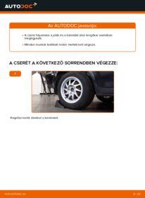 Hogyan végezze a cserét: 1.6 TDCi Ford Focus mk2 Sedan Lengőkar