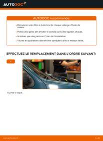 Comment effectuer un remplacement de Filtre à Huile sur D 65 1.9 Renault Kangoo kc01