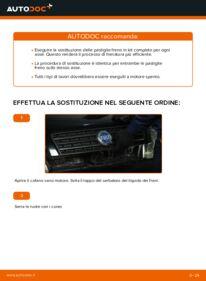 Come effettuare una sostituzione di Ganasce Freno su 1.2 60 Fiat Punto 188