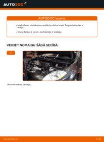 Kā veikt nomaiņu: 1.9 D Multijet FIAT BRAVO II (198) Degvielas filtrs