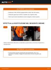 Come effettuare una sostituzione di Filtro Olio su 1.0 (SCP10_) Toyota Yaris p1