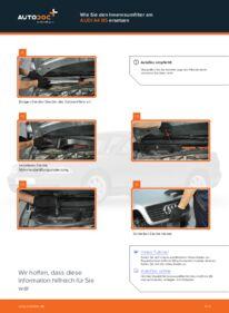 Wie der Wechsel durchführt wird: Innenraumfilter Audi A4 B5 Limousine 1.6 1.9 TDI 1.8 tauschen