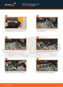 Wie der Wechsel durchführt wird: Zündkerzen Audi A4 B5 Limousine 1.6 1.9 TDI 1.8 tauschen