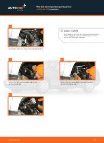 Wie der Wechsel durchführt wird: Spurstangenkopf Audi A4 B5 1.6 1.9 TDI 1.8 tauschen