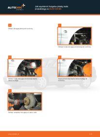 Jak przeprowadzić wymianę: Łożysko koła w AUDI A4