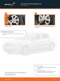 Så byter du Styrled på 1.6 16V (F08, F48) Opel Astra g f48