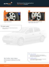 Wie der Wechsel durchführt wird: Spurstangenkopf Opel Astra g f48 1.6 16V (F08, F48) 1.6 (F08, F48) 1.4 16V (F08, F48) tauschen