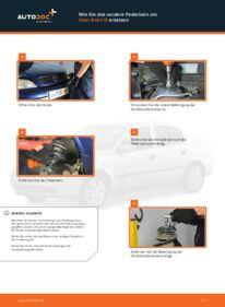 Wie der Wechsel durchführt wird: Domlager Opel Astra g f48 1.6 16V (F08, F48) 1.6 (F08, F48) 1.4 16V (F08, F48) tauschen