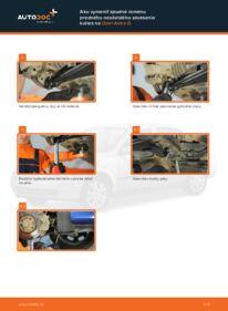 Ako vykonať výmenu: Rameno Zavesenia Kolies na 1.6 16V (F08, F48) Opel Astra g f48