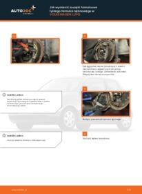 Jak przeprowadzić wymianę: Szczęki hamulcowe w VW LUPO