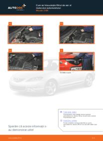 Cum să efectuați înlocuirea: Filtru aer la 1.6 Mazda 3 bk