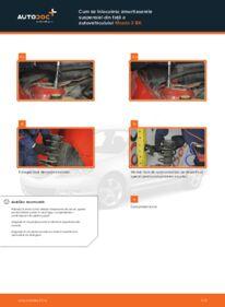 Cum să efectuați înlocuirea: Amortizor la 1.6 Mazda 3 bk