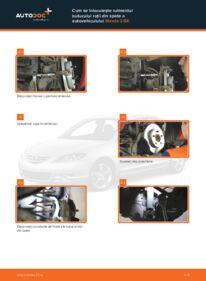 Cum să efectuați înlocuirea: Rulment roata la 1.6 Mazda 3 bk