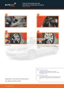 Cum să efectuați înlocuirea: Bara torsiune la 1.6 Mazda 3 bk