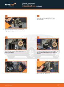 Wie der Wechsel durchführt wird: Radlager 1.2 TDI 3L VW Lupo 6x1 tauschen