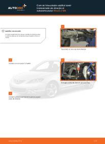 Cum să efectuați înlocuirea: Cap de bara la 1.6 Mazda 3 bk