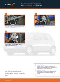 Wie der Wechsel durchführt wird: Koppelstange VW Lupo 6x1 1.2 TDI 3L 1.0 1.4 tauschen