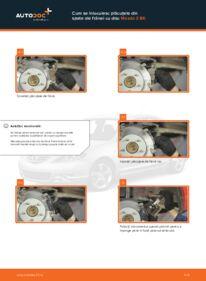 Cum să efectuați înlocuirea: Placute Frana la 1.6 Mazda 3 bk