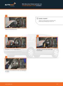 Wie der Wechsel durchführt wird: Radnabe 1.2 TDI 3L VW Lupo 6x1 tauschen