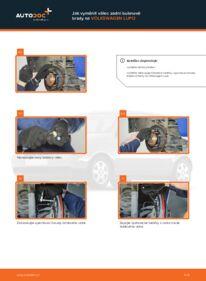 Jak provést výměnu: Hlavni brzdovy valec na 1.2 TDI 3L VW Lupo 6x1