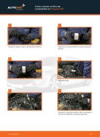 ¿Cómo realizar un reemplazo de Filtro de Combustible en 2.0 HDi 135 ? Eche un vistazo a nuestra guía detallada y sepa cómo hacerlo.